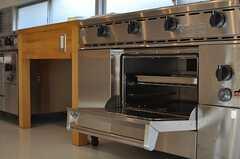 業務用のオーブンもあり。(2014-03-28,共用部,KITCHEN,2F)