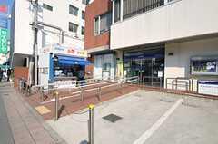 建物の隣には銀行があります。(2014-03-28,共用部,ENVIRONMENT,1F)
