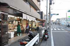 近所の商店街の様子。(2014-03-28,共用部,ENVIRONMENT,1F)