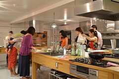 キッチン周辺の様子。(2014-07-25,共用部,PARTY,2F)