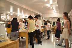 キッチン周辺の様子2。(2014-07-25,共用部,PARTY,2F)