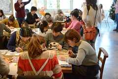 入居者さんも何名か参加していました。(2014-12-13,共用部,PARTY,2F)