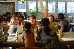 赤ちゃん〜小学生の子たちも、イベントを楽しんでいました。(2014-12-13,共用部,PARTY,2F)