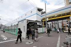京急本線・大森町駅の様子。(2011-12-23,共用部,OTHER,3F)