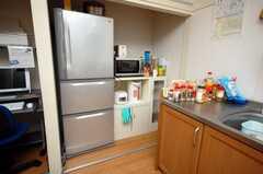 キッチン家電の様子。(2008-10-14,共用部,KITCHEN,1F)