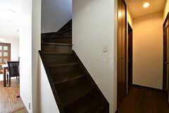 階段の様子。(2016-11-07,共用部,OTHER,2F)