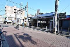 東急多摩川線・武蔵新田駅の様子。(2016-11-07,共用部,ENVIRONMENT,1F)