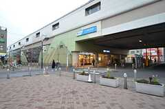 小田急小田原線・千歳船橋駅の様子。(2016-02-12,共用部,ENVIRONMENT,1F)