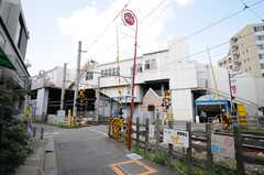 各線・下高井戸駅の様子。(2013-04-18,共用部,ENVIRONMENT,1F)