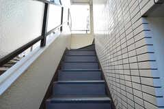 階段の様子。(2020-01-31,共用部,OTHER,2F)