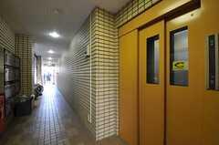 マンションのエレベーター。(2011-10-04,共用部,OTHER,1F)