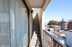 屋上へ向かう階段の様子。(2011-10-04,共用部,OTHER,5F)