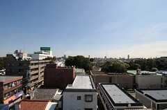 屋上からの景色。(2011-10-04,共用部,OTHER,6F)