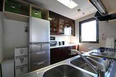 キッチンの様子2。(2011-10-04,共用部,KITCHEN,5F)