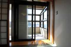 サンルーム付きです。(5011号室)(2011-10-04,専有部,ROOM,5F)