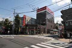 東急世田谷線・上町駅前の様子。(2011-10-04,共用部,ENVIRONMENT,1F)
