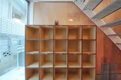 靴箱の様子。(2011-01-28,周辺環境,ENTRANCE,1F)