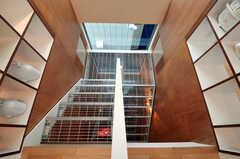階段の様子。(2011-01-28,共用部,OTHER,3F)