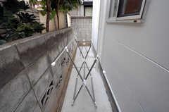 物干し場の様子。(2011-01-28,共用部,OTHER,2F)