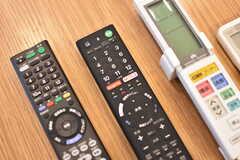TVはネット動画配信サービスが視聴可能です。(2017-02-03,共用部,TV,2F)