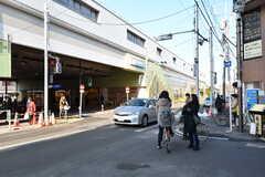 小田急線・千歳船橋駅の様子。(2017-02-28,共用部,ENVIRONMENT,1F)