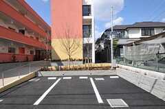 駐車場の様子。(2012-03-14,共用部,GARAGE,1F)