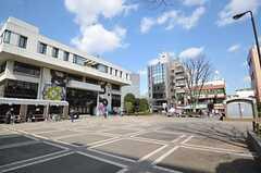 世田谷区烏山区民センター前広場。(2012-03-14,共用部,ENVIRONMENT,1F)