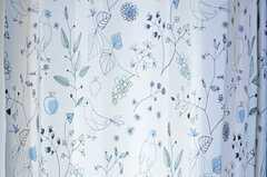 カーテンの様子。(304号室)(2013-10-29,専有部,ROOM,3F)