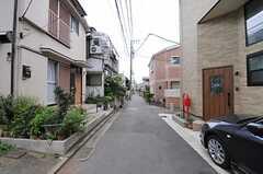 シェアハウス周辺はのんびりした住宅街。(2013-07-02,共用部,ENVIRONMENT,1F)