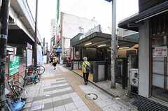 東急田園都市線・駒沢大学駅の様子。(2013-07-02,共用部,ENVIRONMENT,1F)