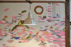 アーティストによるウォール・ペイントがあります。(2009-12-28,共用部,OTHER,1F)
