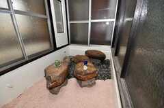 中庭があります。(2009-12-28,共用部,OTHER,1F)
