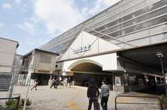 小田急小田原線経堂駅の様子。(2009-10-12,共用部,ENVIRONMENT,1F)