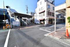 京王線・芦花公園駅の様子。(2016-12-21,共用部,ENVIRONMENT,1F)