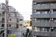 窓からの景色はこんな感じ。(303号室)(2012-10-22,専有部,ROOM,3F)
