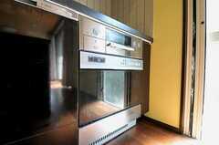 オーブンの様子。(2011-09-15,共用部,KITCHEN,1F)