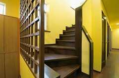 階段の様子。(102号室)(2011-09-15,共用部,OTHER,1F)