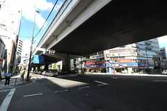 東急田園都市線・駒沢大学駅周辺の様子。(2011-09-15,共用部,ENVIRONMENT,1F)