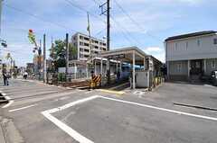 東急世田谷線・世田谷駅の様子。(2012-07-11,共用部,ENVIRONMENT,1F)