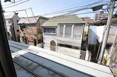 窓から見た外の景色。(204号室)(2013-04-09,専有部,ROOM,2F)