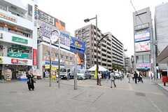 各線・明大前駅前の様子。(2013-04-09,共用部,ENVIRONMENT,1F)