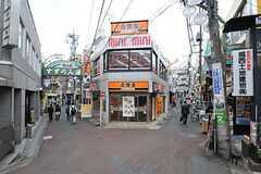 駅前の商店街の様子。(2013-04-09,共用部,ENVIRONMENT,1F)