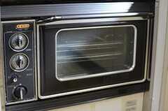 オーブンは現役です。(2014-02-07,共用部,KITCHEN,1F)