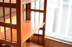 洗剤などを置いておけるスペース。(2014-02-07,共用部,LAUNDRY,1F)