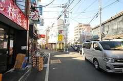 京王京王線・桜上水駅前の様子。(2014-02-07,共用部,ENVIRONMENT,1F)