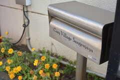 郵便受けの様子。(2020-08-21,周辺環境,ENTRANCE,1F)