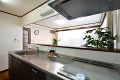 キッチンの様子2。(2020-08-21,共用部,KITCHEN,1F)