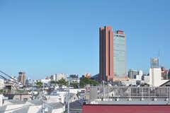 三軒茶屋のキャロットタワーが見えます。(2020-08-21,共用部,OTHER,4F)