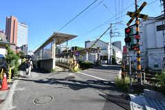 東急世田谷線・西太子堂駅の様子。(2020-08-21,共用部,ENVIRONMENT,1F)