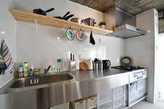 キッチンの様子3。(2016-12-08,共用部,KITCHEN,5F)